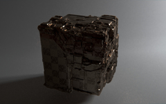Greeble More Accurate Cube